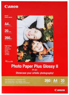 Canon PP-201 Plus II A4 Glossy 20