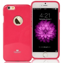 "Rožinis dėklas Mercury Goospery ""Jelly Case"" Apple iPhone 6/6s telefonui"