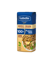 Pilno grūdo makaronai LUBELLA PENNE (vamzdeliai), 400 g