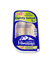 Silpnai sūdyta silkių filė VIČI aliejuje, 1 kg