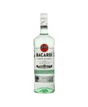 Rums Bacardi Carta Blanca 37.5% 1.0L