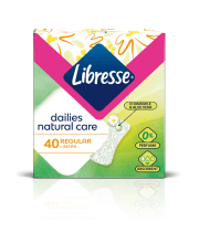 Ikd. ieliktn. Libresse natural normal 40gab.