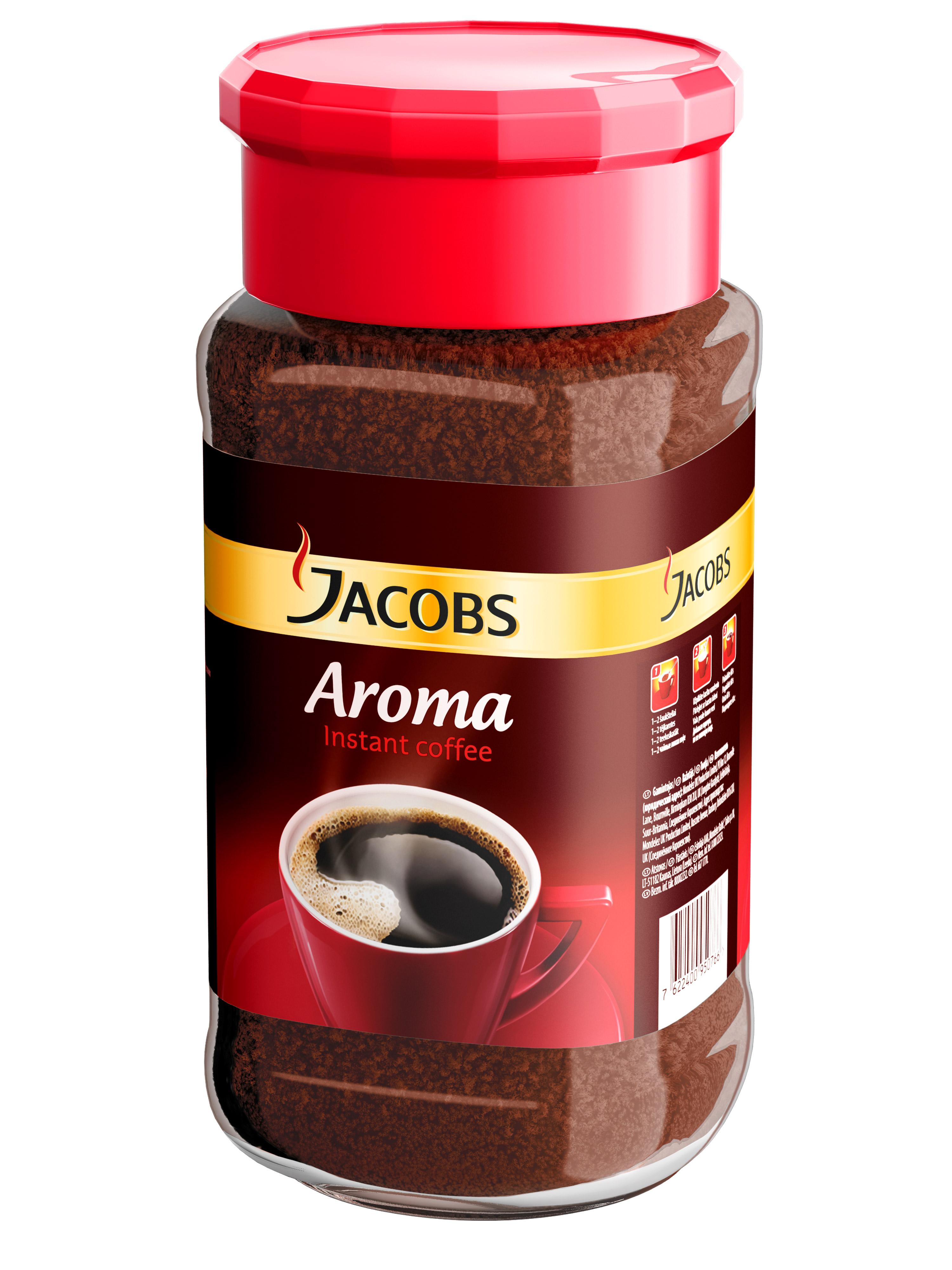 Tirpioji kava JACOBS AROMA, 200 g