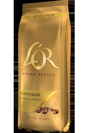 Klasikinės kavos pupelės L'OR CLASSIQUE 500 g