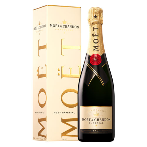 Šampanas sausas BRIUTAS CHAMPAGNE Moet&Chandon Imperial BRUT 12% 750 ml