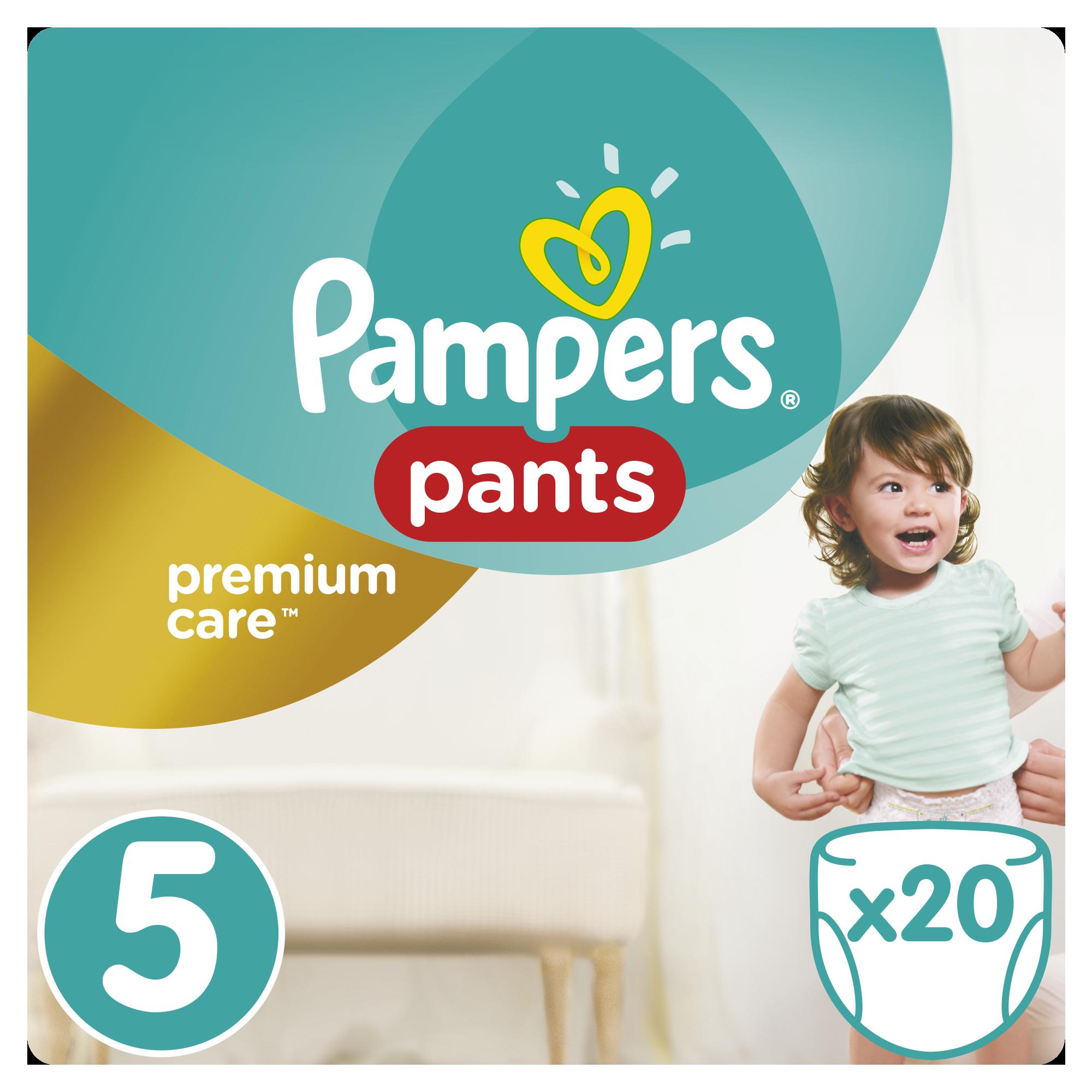 Sauskelnės PAMPERS Premium Pants, 5 dydis, 12 -18 kg, 20 vnt