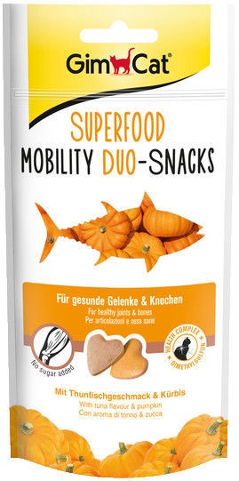 Gimborn GimCat Superfood Mobility Duo-Snacks 40g