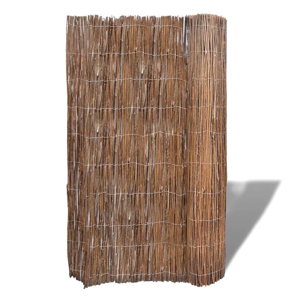 Plank 150 Cm.Vidaxl Karklinių Vytelių Tvora Sodui 300 X 150 Cm