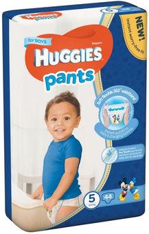 Biksītes Huggies boy mp 5 12-17kg 44gb