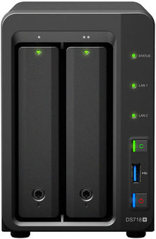 Servers SYNOLOGY DS718+ 2-Bay NAS-case price | price