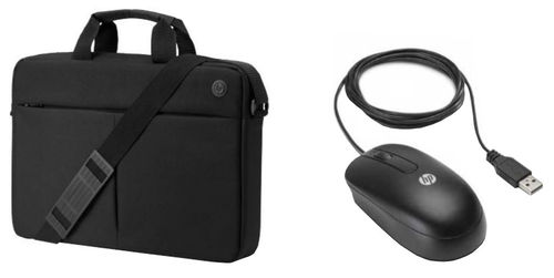 """HP Prelude Notebook Bag 15.6"""" + Mouse Black"""