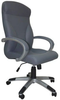 Senukai Chair Riga Comfort Eco-70 Grey
