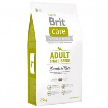 Brit Care Adult Small Breed Lamb & Rice 7.5 kg