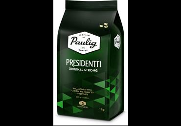 Kavos pupelės PAULIG PRESIDENTTI STRONG 1 kg
