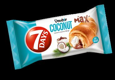 Raguolis 7 DAYS DOUBLE su kakavos ir kokosų skonių įdaru, 60 g