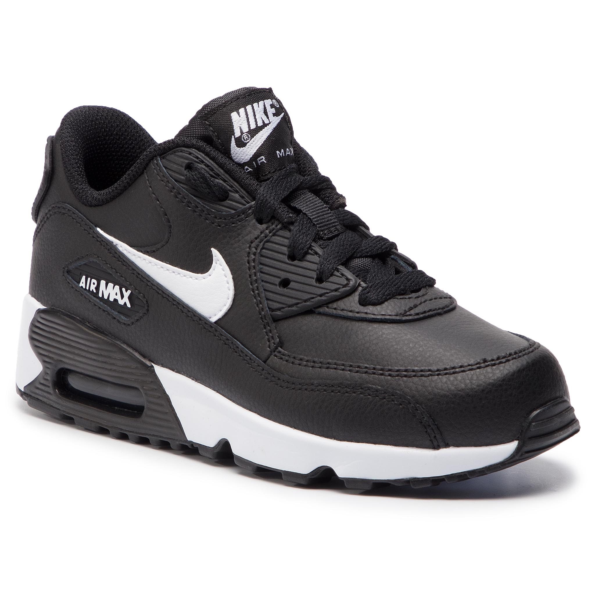 a426d34c Batai NIKE - Air Max 90 Ltr (PS) 833414 025 Black/White Anthracite