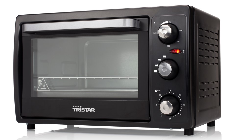 Tristar OV-1436 19 L, No, Electric, Black, 1300 W