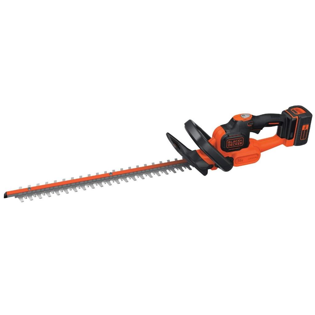 Cordless hedge trimmer GTC36552PC / 36 V / 2 Ah / 55 cm, Black+Decker