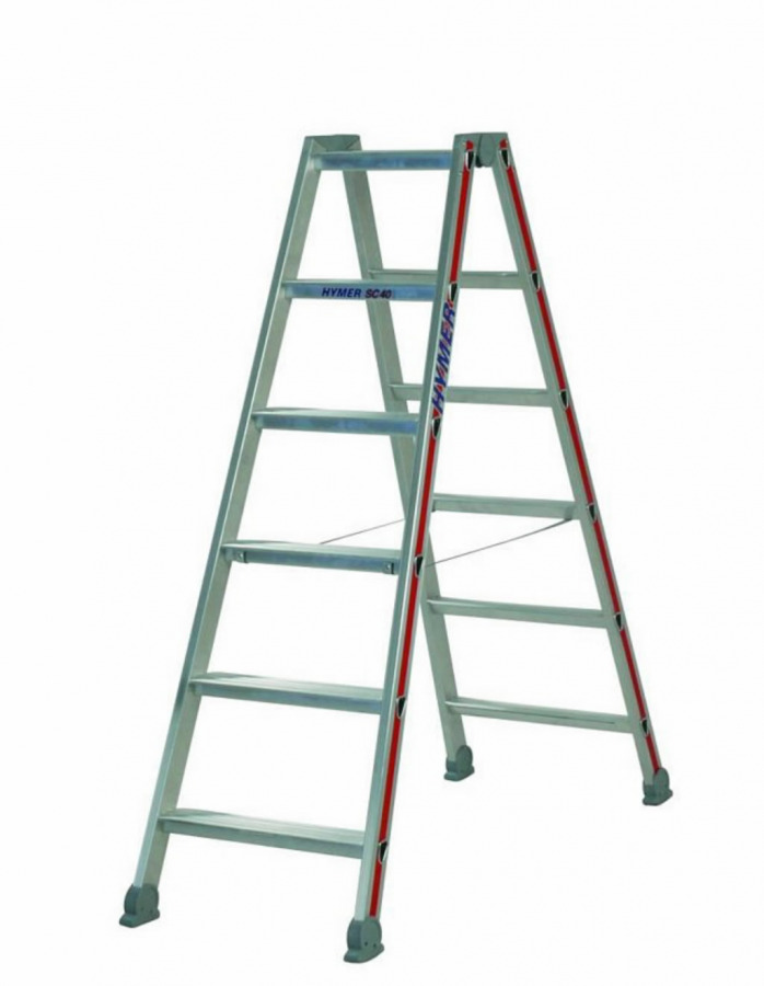 Hymer 2x6 Step Ladder Double-Sided