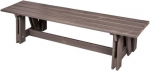 Folkland Timber Riva Bench Graphite