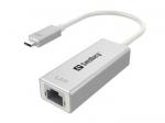 Sandberg konverteris USB-C / Network Converter