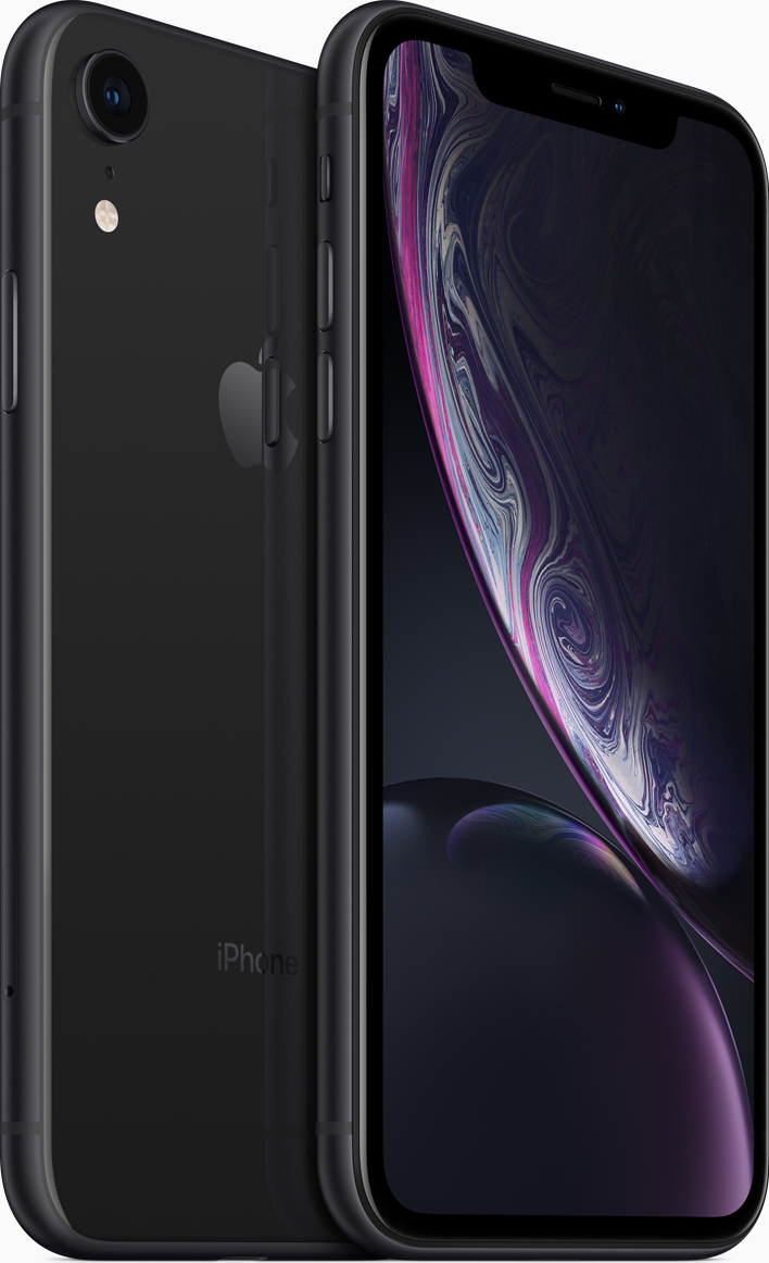 Išmanusis telefonas Apple iPhone XR 64GB Black Juoda