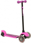 YVolution Y Glider Deluxe Scooter Green Black/Pink
