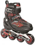 Roces Moody 4.0 30-35 Black/Yellow/Red