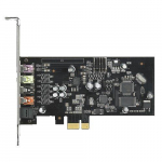 Asus Xonar SE 5.1 PCIe gaming sound card, 192kHz/24-bit hi-res audio, 116dB SNR