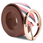 Moteriškas Diržas TOMMY HILFIGER - Oval Buckle Belt 3.5 AW0AW05887 262
