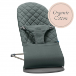 BABYBJÖRN gultukas Bliss Greyish Green Organic 006068A