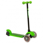 YVolution Y Glider Deluxe Scooter Green Black/Green
