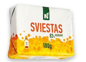 Sviestas N, 82% rieb., 180 g
